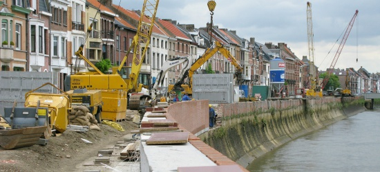 Waterbouw - Arbeider voor las- hout- en betonwerken